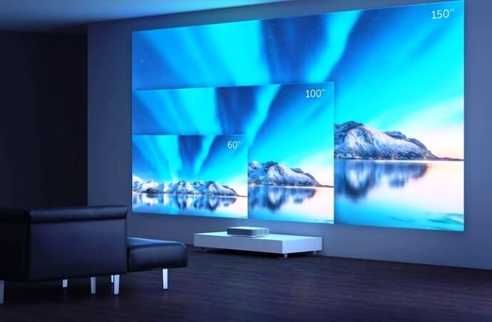 IMAX laser projector