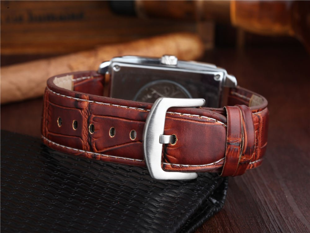 Luxury Leather Apple Watch Band