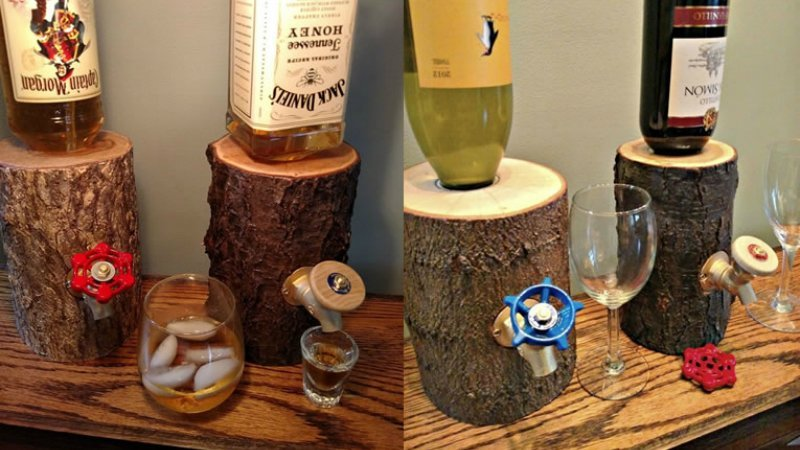 Wood Log Dispenser