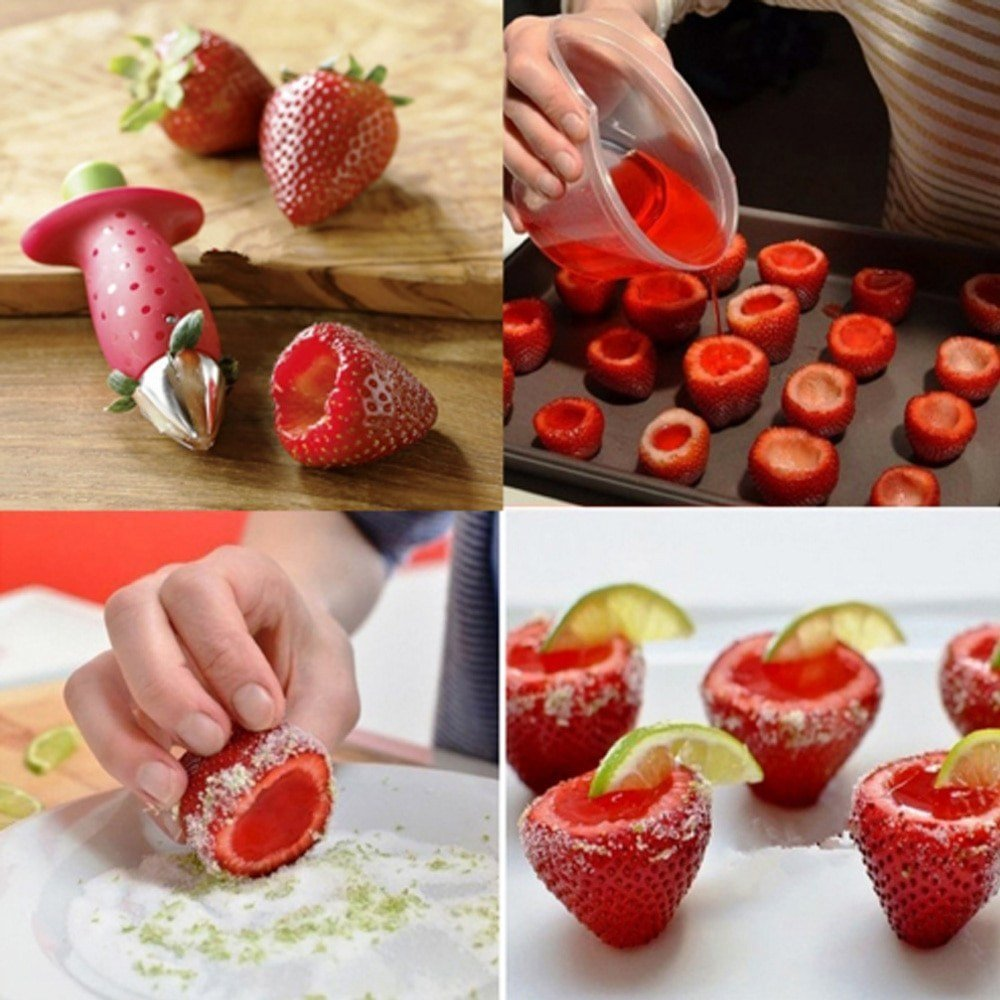 Strawberry Hollowing Tool