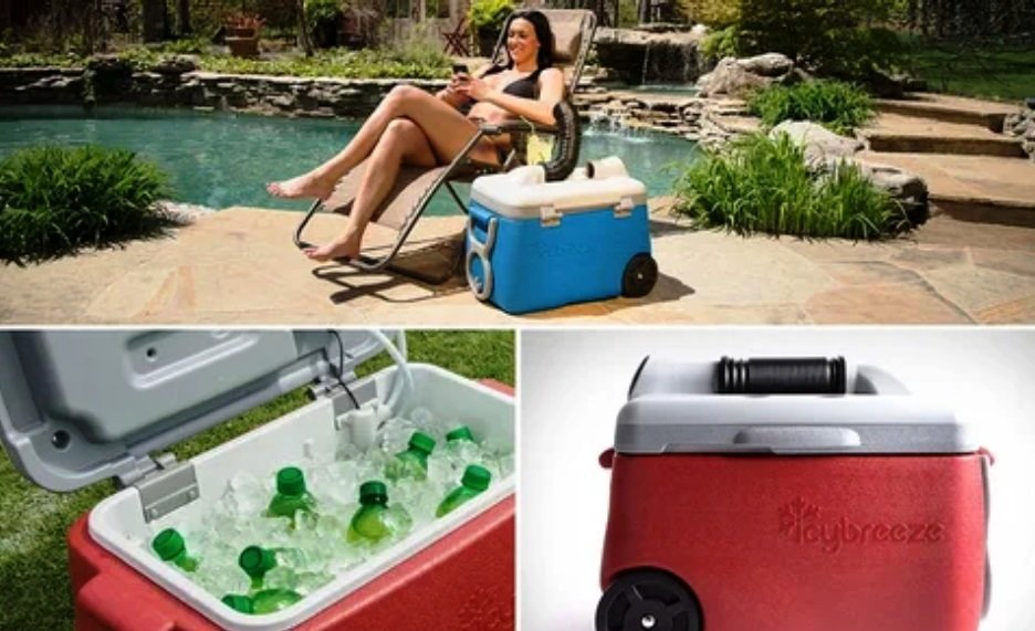 Portable Drink Coller and Air Conditioner