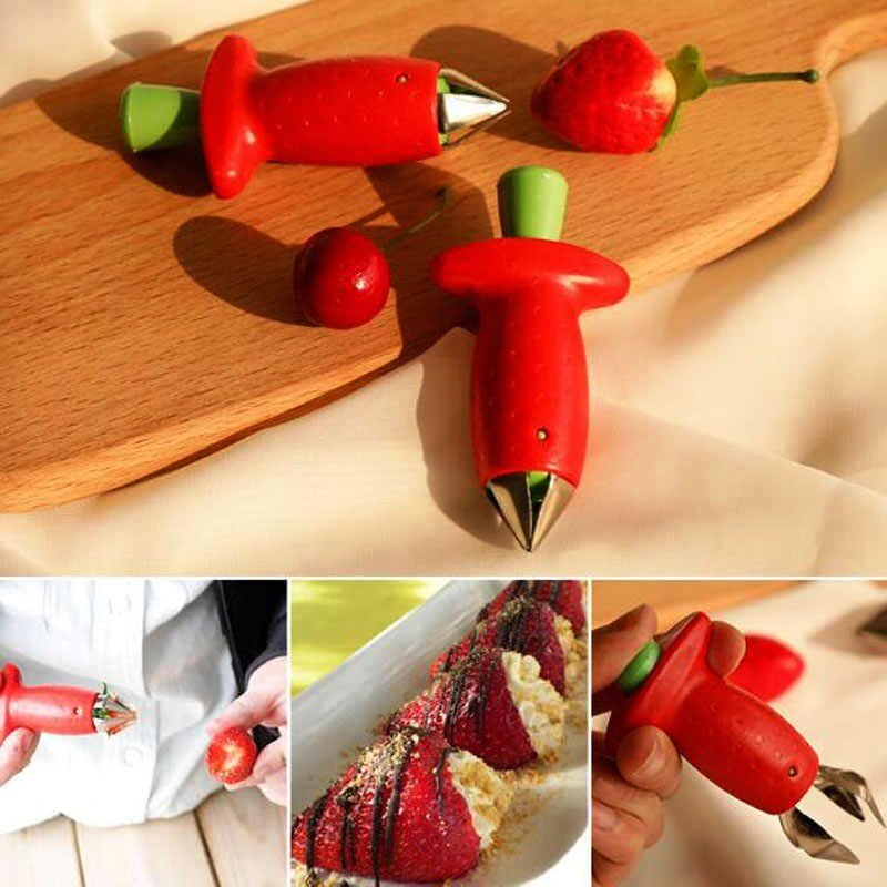 Hulling Tool for Strawberries