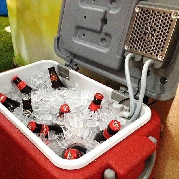 Camping Drink Cooler And AC
