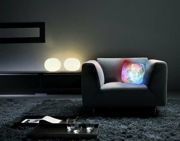 glowing pillows