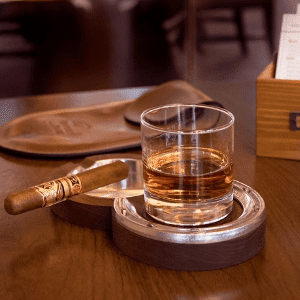 Double Cigar Ashtray Coaster