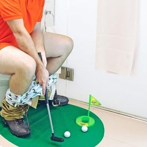 Toilet Golf Game