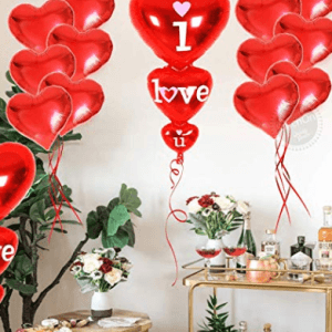 Heart Balloons Kit
