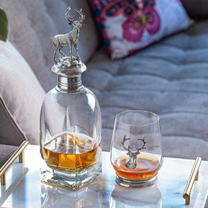 PREMIUM Whiskey Decanter Set
