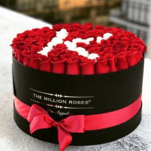 Personalized Roses Box
