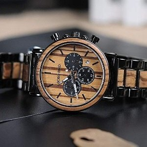 Stylish Wooden Men's Watch