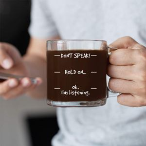 Don't Speak Coffee Mug