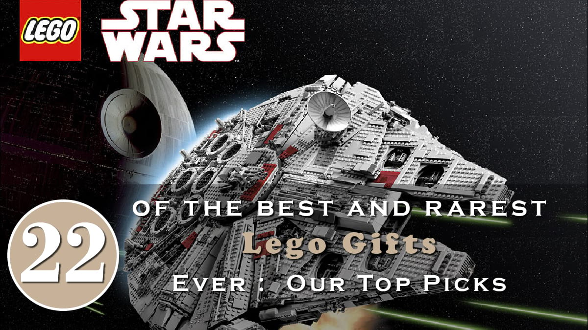 22 of the Best and Rarest Lego Gifts Ever - Our Top Picks Banner