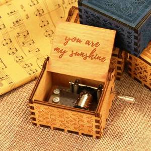 Wood Music Box