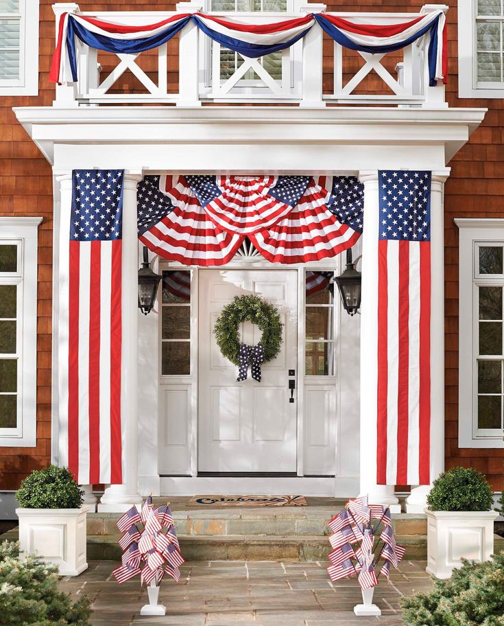 memorial day house decoration
