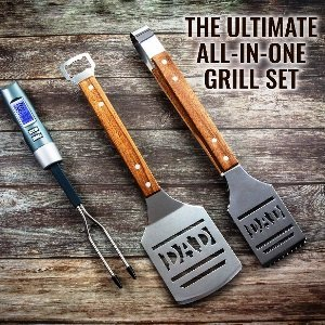 Dad BBQ Tools Gift Set